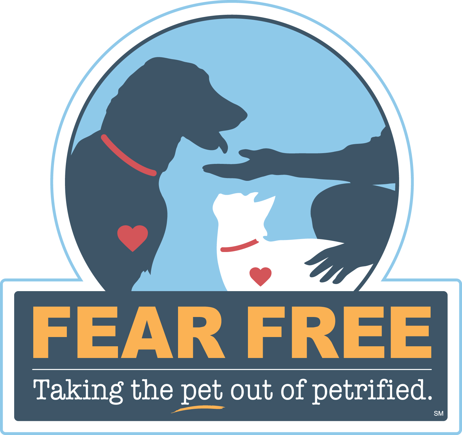 """Fear Free, taking the pet out of petrified"""